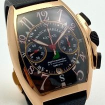 Franck Muller Mariner Rose gold 54mm Black Arabic numerals
