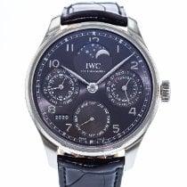 IWC Portuguese Perpetual Calendar IW5033-01 2010 usados