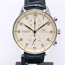 IWC IW371401 Acero 2003 Portuguese Chronograph usados