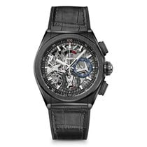 Zenith Defy El Primero Ceramic 44mm Transparent No numerals United States of America, New York, New York
