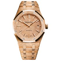 Audemars Piguet 15454OR.GG.1259OR.03 Oro rosa 2021 Royal Oak Lady 37mm nuevo