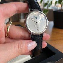 Breguet Platinum Automatic Silver Roman numerals 36mm pre-owned Classique