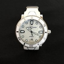 Ulysse Nardin Lady Diver pre-owned 40mm White Date Rubber