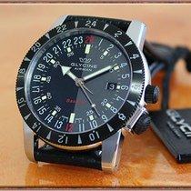 Glycine Airman Base 22 Acier 42mm Noir Arabes