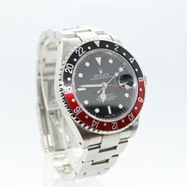Rolex Steel Automatic 40mm pre-owned GMT-Master II