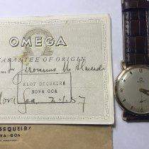 Omega De Ville Trésor 432.53.40.21.02.001 Muito bom Ouro amarelo 40mm Corda manual Portugal, Almada