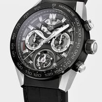 TAG Heuer Carrera Heuer-02T Titanium 45mm Black No numerals United States of America, California, Burlingame