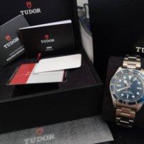 Tudor Black Bay Fifty-Eight Acier 39mm Bleu Sans chiffres Belgique, Neerwinden