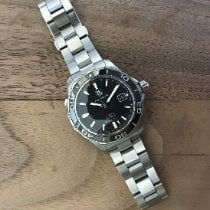 TAG Heuer Aquaracer 500M Steel 41mm Black United States of America, California, Ladera ranch
