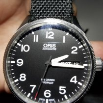 Oris Big Crown ProPilot Day Date Steel 45mm Black Arabic numerals