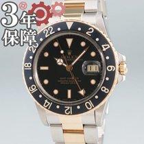 Rolex (ロレックス) GMT マスター ゴールド/スチール 40mm ブラック 日本, 大阪市中央区