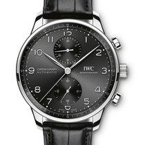 IWC IW371609 Acero 2020 Portuguese Chronograph 41mm nuevo