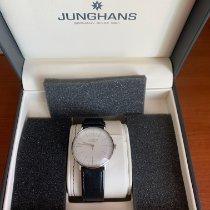 Junghans max bill Handaufzug occasion 34mm Argent Cuir