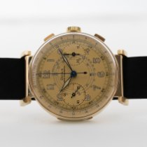 Doxa occasion Remontage manuel 37mm Or