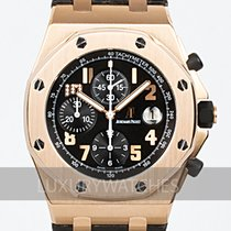 Audemars Piguet Royal Oak Offshore Chronograph Roségoud 42mm Zwart Arabisch