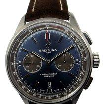 Breitling подержанные Автоподзавод 42mm Синий Сапфировое стекло 10 атм