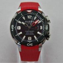 Clerc Hydroscaph H1 Chronometer Steel 43,8mm Grey Arabic numerals
