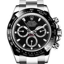 Rolex Daytona Steel 40mm Black No numerals United States of America, New York, New York