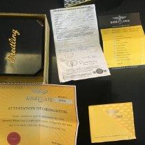 Breitling tweedehands Quartz 34mm Zwart Saffierglas 50 ATM