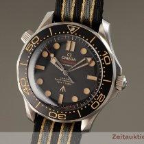 Omega Titane Remontage automatique Noir 42mm occasion Seamaster Diver 300 M