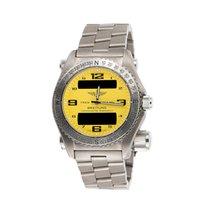 Breitling Emergency new 2005 Quartz Chronograph Watch with original box E76321