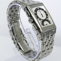 Jaeger-LeCoultre Reverso Duoface Steel 28mm Silver Arabic numerals