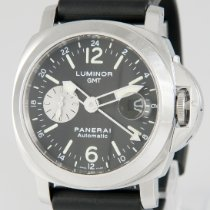 Panerai Luminor GMT Automatic Acero 44mm Negro España, Gijon