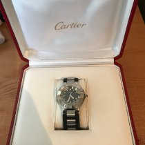 Cartier 21 Must de Cartier Steel 37mm Black United Kingdom, Liverpool