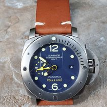 Panerai Titanium Automatic Blue 47mm pre-owned Special Editions