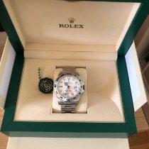 Rolex Explorer II Acier 40mm Blanc Sans chiffres France, athis mons