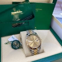 Rolex Datejust Gold/Steel 41mm Gold No numerals United States of America, New Jersey, Totowa