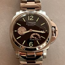 Panerai Luminor Power Reserve Acciaio 40mm Nero Arabi