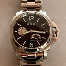 Panerai Luminor Power Reserve Acero 40mm Negro Arábigos