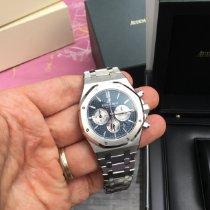 Audemars Piguet Royal Oak Chronograph Stahl 41mm Blau Keine Ziffern Deutschland, Hamburg