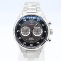 TAG Heuer Carrera Calibre 36 Steel 43mm Black Arabic numerals United States of America, New York, New York