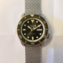 Seiko 5 Sports Steel 42mm Green No numerals United States of America, New York, SYRACUSE