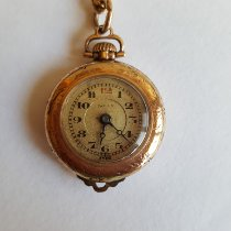 Illinois Vintage Gold Plated Pendant / Pocket Watch, Dolly Brand, Working, 15 Jewel, 2 Adjusted, Swiss Made, Ariston Watch Co.Illinois Watch Co. 1920 occasion