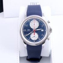 IWC Portuguese Yacht Club Chronograph IW390507 Very good Steel 43.5mm Automatic