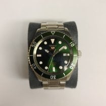 Seiko 5 Sports Steel 44mm Green No numerals United States of America, New York, SYRACUSE