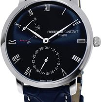 Frederique Constant Slimline Automatic Steel 40mm Blue United States of America, Florida, North Miami Beach