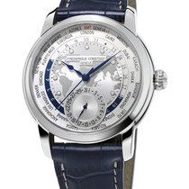 Frederique Constant Manufacture Worldtimer Steel 42mm Silver United States of America, Florida, North Miami Beach