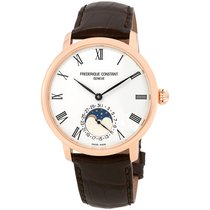 Frederique Constant Manufacture Slimline Moonphase Gold/Steel Silver United States of America, Florida, North Miami Beach