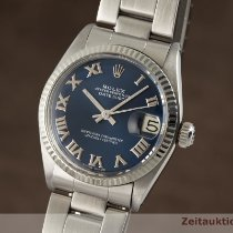 Rolex Lady-Datejust Or/Acier 31mm Bleu