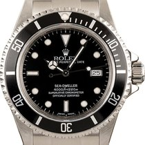 Rolex 16600 Steel 1997 Sea-Dweller 4000 40mm pre-owned United Kingdom, London