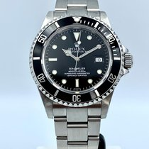 Rolex Sea-Dweller 4000 używany 40mm Czarny Data Stal