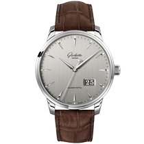Glashütte Original Senator Excellence Steel 42mm Grey No numerals United Kingdom, London