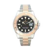 Rolex Yacht-Master 40 Gold/Steel 40mm Black No numerals South Africa, Centurion