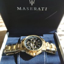 Maserati Gold/Steel Automatic R8851118001 pre-owned