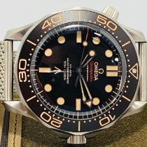 Omega Seamaster Diver 300 M Titan 42mm Negru Fara cifre