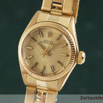 Rolex Oyster Perpetual 26 25mm Or